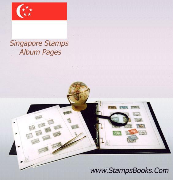 Singapore Stamps Album