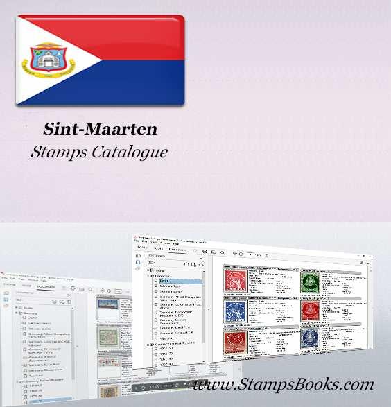 Sint Maarten Stamps Catalogue
