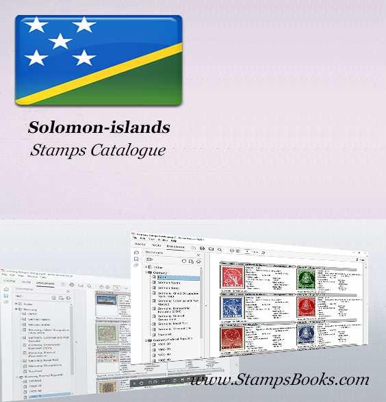 Solomon islands Stamps Catalogue
