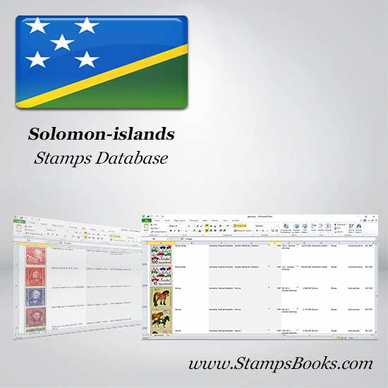 Solomon islands Stamps dataBase