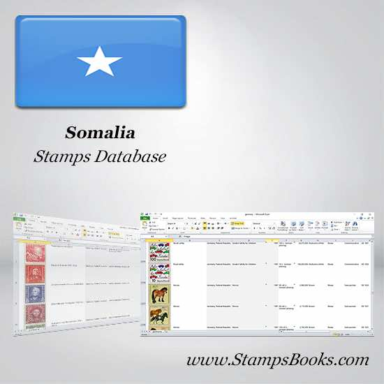 Somalia Stamps dataBase