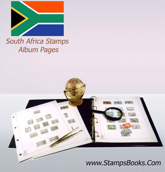 South Africa stamps Album