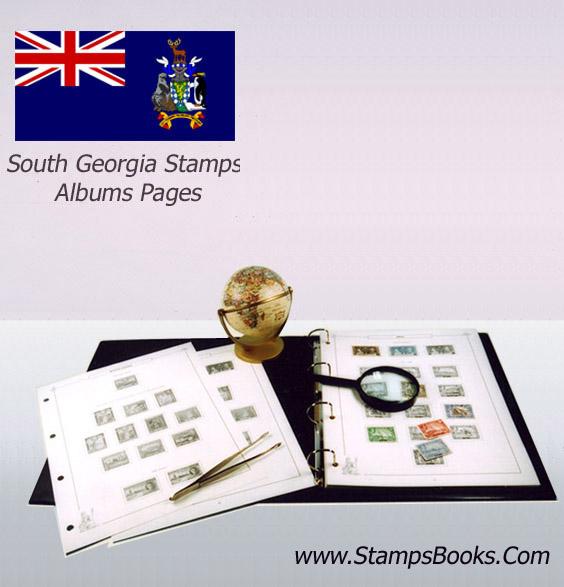 South Georgia stamps