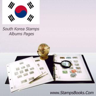 South Korea stamps