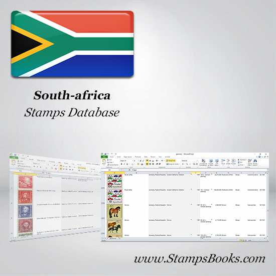 South africa Stamps dataBase
