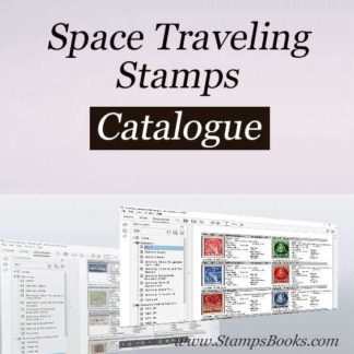 Space Traveling stamps