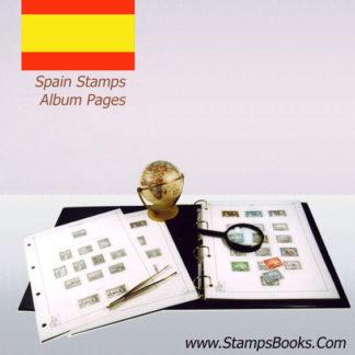 Spain stamps Album