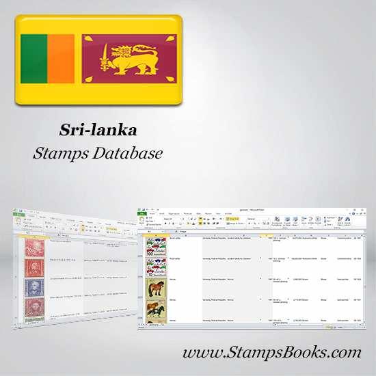 Sri lanka Stamps dataBase