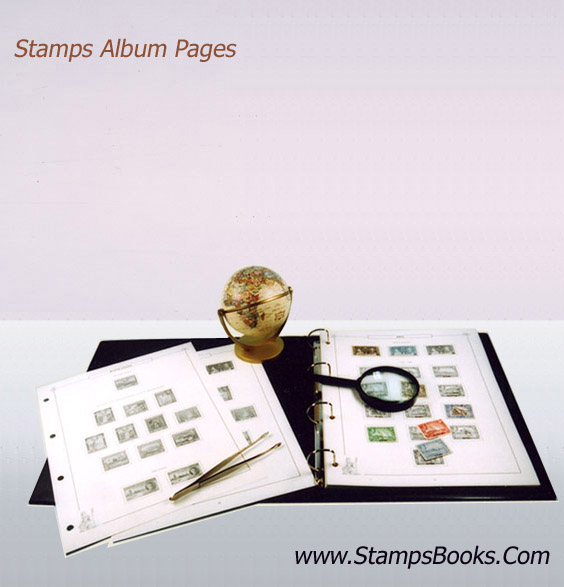 Stamps Album Pages