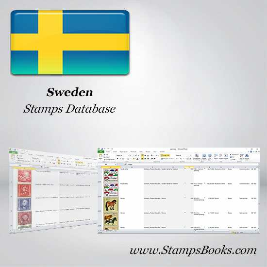 Sweden Stamps dataBase