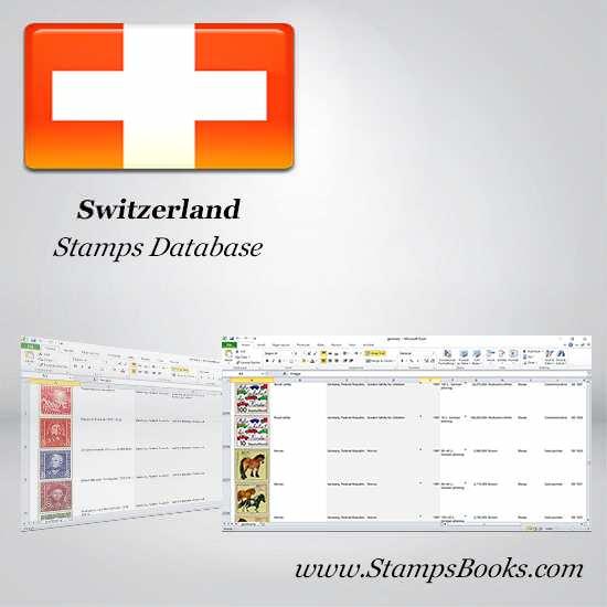 Switzerland Stamps dataBase