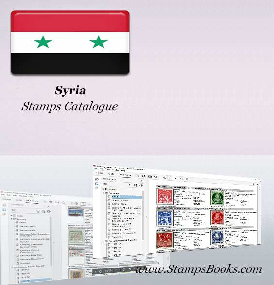 Syria Stamps Catalogue