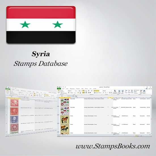 Syria Stamps dataBase