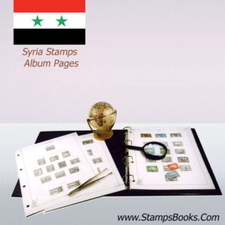 Syria stamps