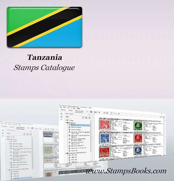 Tanzania Stamps Catalogue