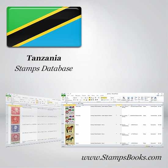 Tanzania Stamps dataBase