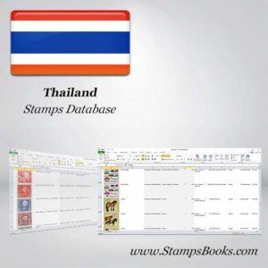 Thailand Stamps dataBase