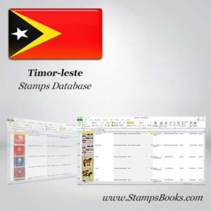 Timor leste Stamps dataBase