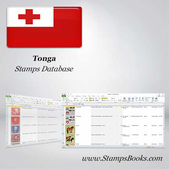 Tonga Stamps dataBase