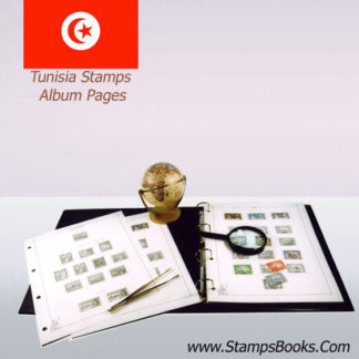 Tunisia stamps album