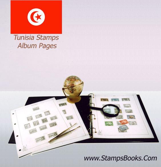 Tunisia stamps album