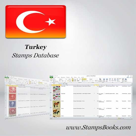 Turkey Stamps dataBase