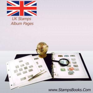 UK stamps album