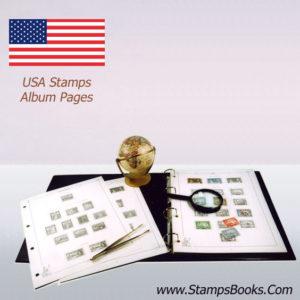USA stamps album