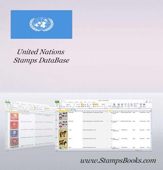 United Nations Stamps dataBase