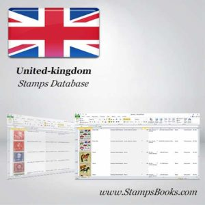 United kingdom Stamps dataBase
