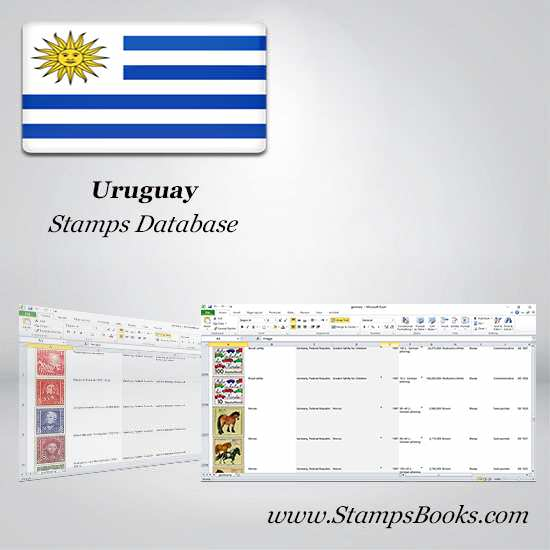 Uruguay Stamps dataBase