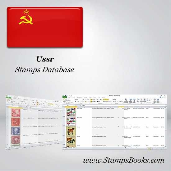 Ussr Stamps dataBase