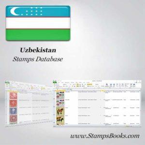 Uzbekistan Stamps dataBase