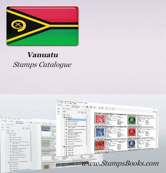 Vanuatu Stamps Catalogue