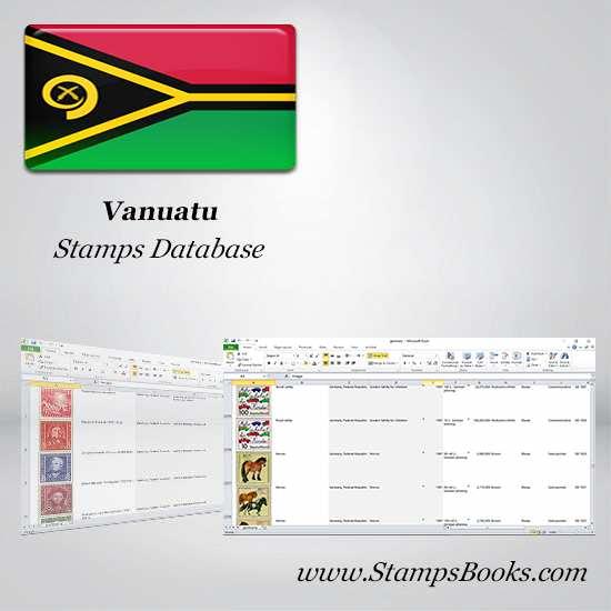 Vanuatu Stamps dataBase