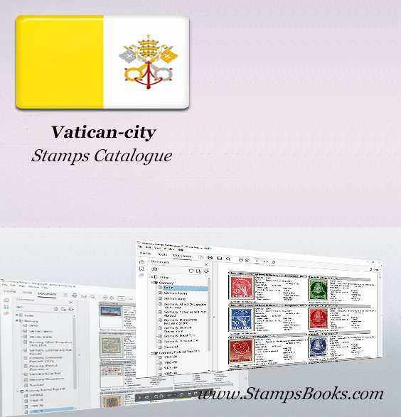 Vatican city Stamps Catalogue
