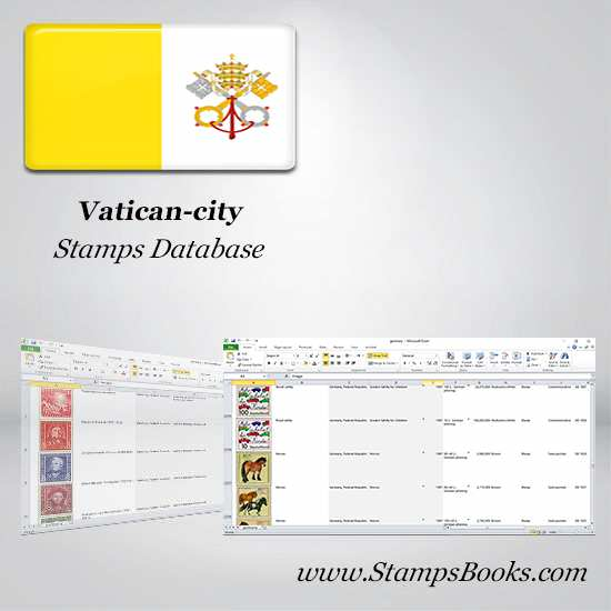 Vatican city Stamps dataBase