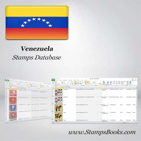 Venezuela Stamps dataBase