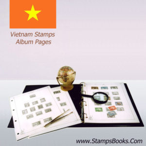 Vietnam Stamps Album