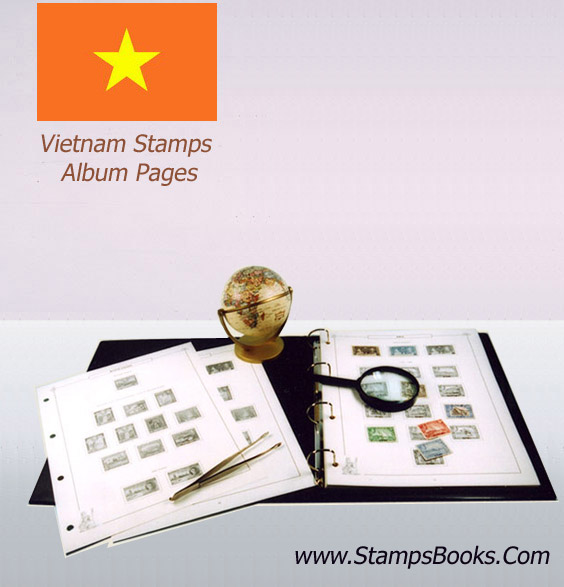 Vietnam Stamps Album