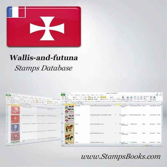 Wallis and futuna Stamps dataBase