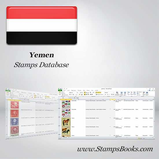 Yemen Stamps dataBase