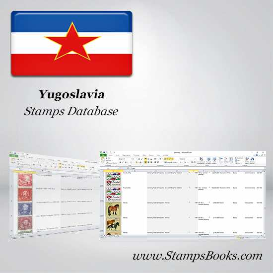 Yugoslavia Stamps dataBase