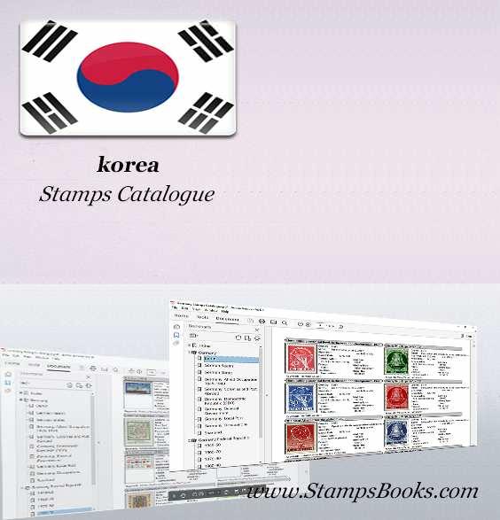 korea Stamps Catalogue