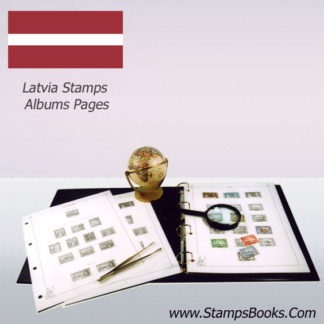 latvia stamps