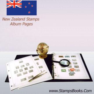 timbres zélande