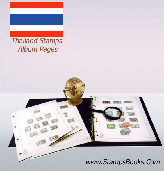 thailand stamps
