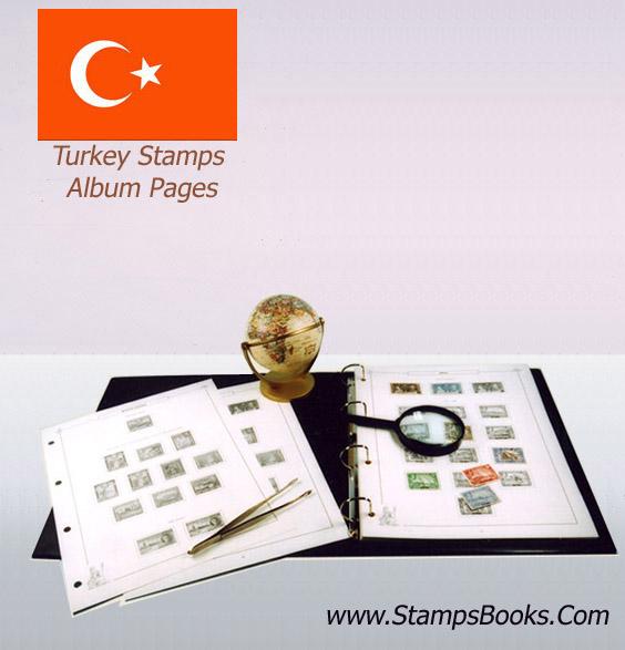 Turkey Stamps Album